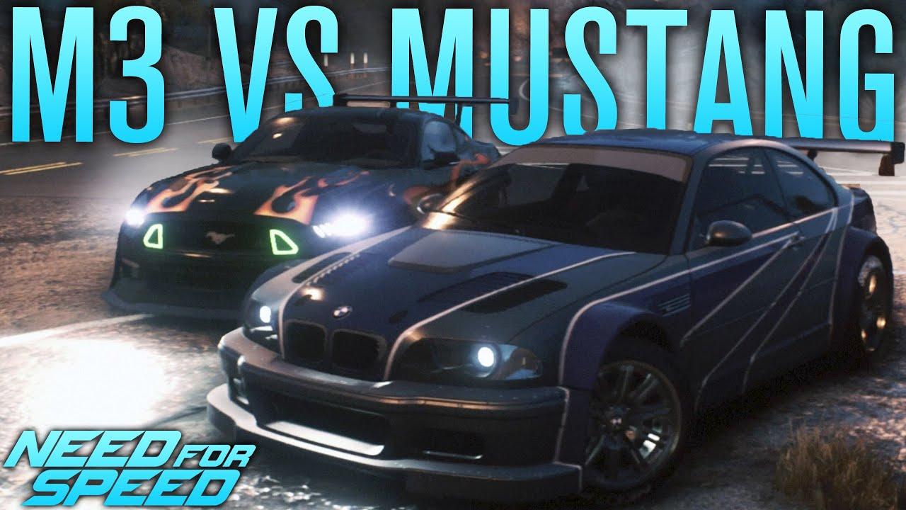 Bmw M3 Gtr Vs Razor S Mustang Need For Speed 2015