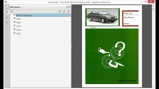 Volvo 940 - Electrical Wiring Diagrams - YouTube | Volvo 940 Wiring Diagrams Automotive |  | YouTube