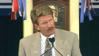 Mike Schmidt 1995 Hall of Fame Induction Speech