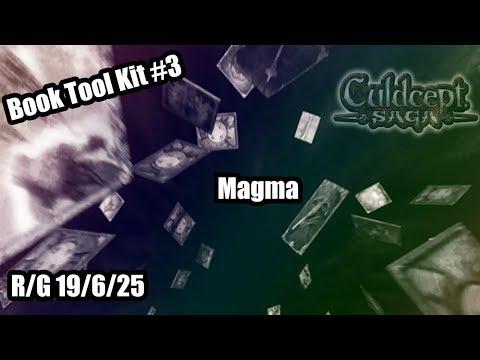 Culdcept Saga Book Tool Kit - Magma