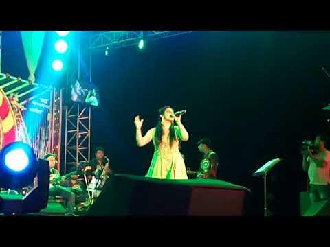 Mekhla dasgupta stage programme at All star club (Mahishadal)