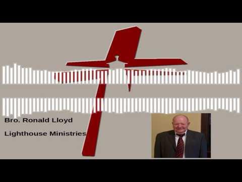Bro. Ronald Lloyd - God Chose You 7-26-2017 PM
