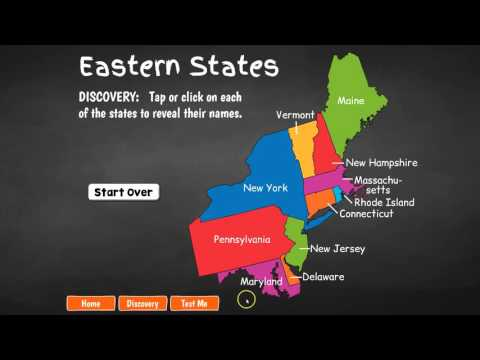 Eastern United States Geography