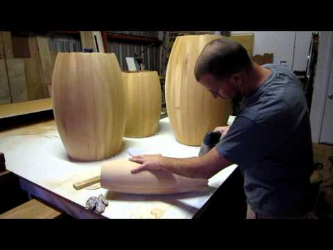 True Wood Design - Custom Wood Lighting - Alien Lights