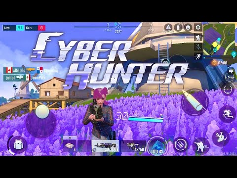 Cyber Hunter - Beginner Gameplay- Solo Battle Royale 18 Kills