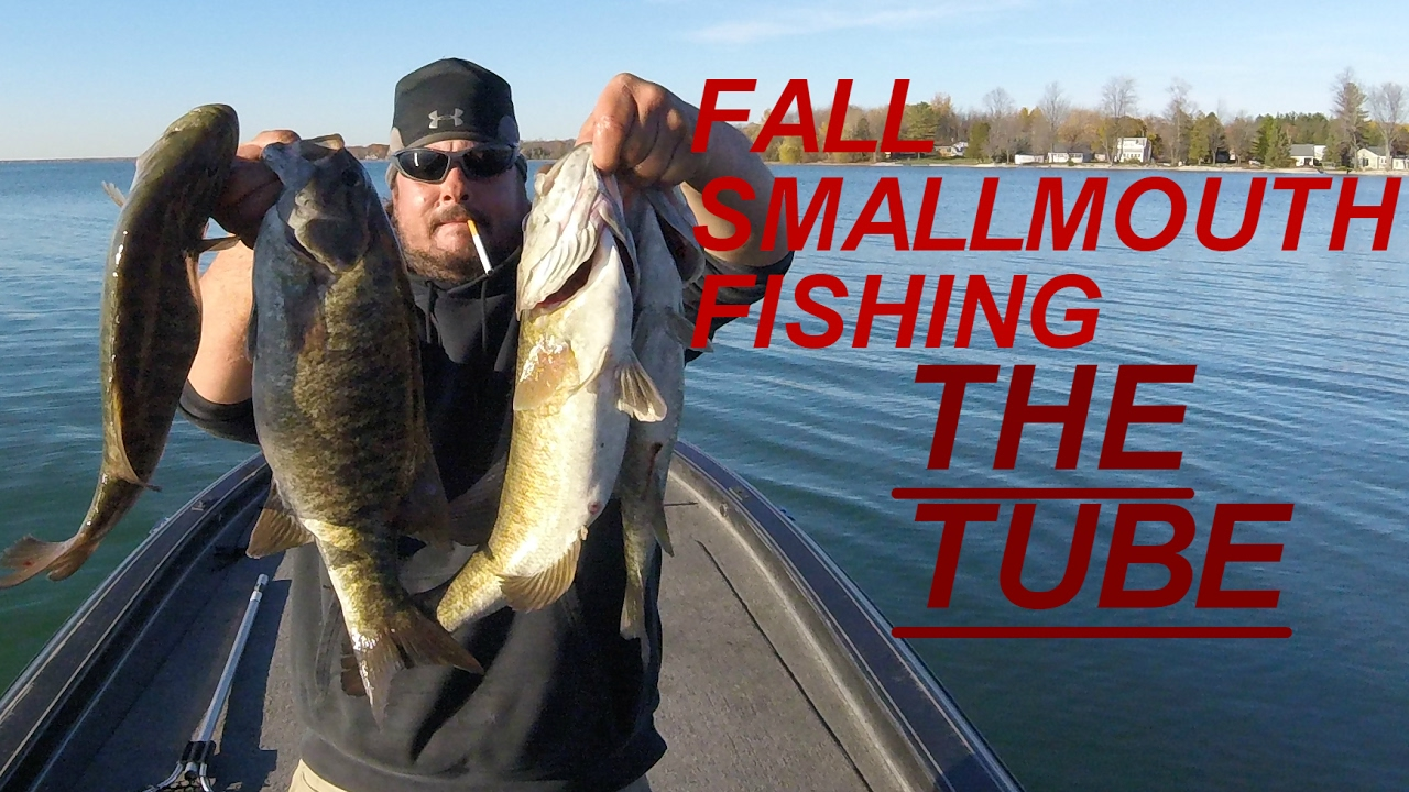 Fall smallmouth bass fishing long lake northern michigan for Lake michigan fishing report