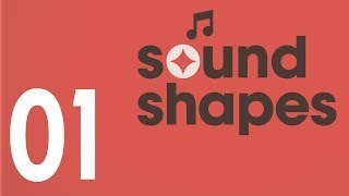 Sound Shapes Gameplay & Walkthrough Part 1 - (PS4)
