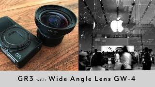 【GR3】ワイコン GW-4 実写レビュー RICOH GRⅢ wide conversion lens