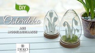DIY: süße Osterdeko aus Modelliermasse [How to] Deko Kitchen