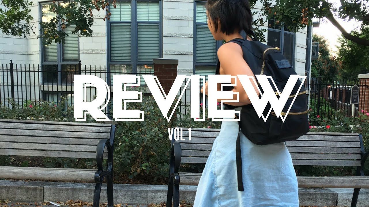 c1ccd3c65d3a MARC BY MARC BACKPACK REVIEW - STYLE ME T - YouTube