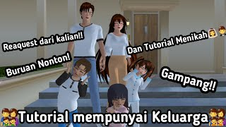 TUTORIAL MENIKAH DAN MEMPUNYAI ANAK (MARRIED and HAVE KIDS)- SAKURA SCHOOL SIMULATOR TUTORIAL#21