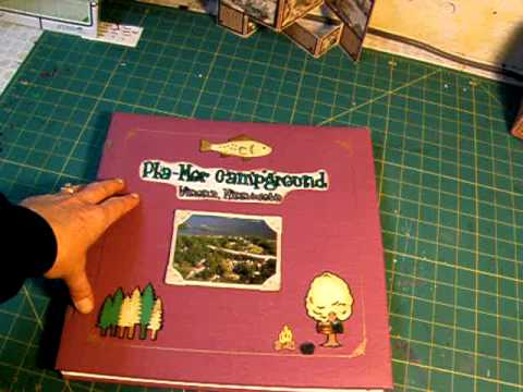 Scrapbook Cover Decorating Marion Smiths 31 Day Challenge Day 29