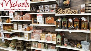 MICHAELS SHOP WITH ME DEALS FALL DECOR  SQUISHIES SLIME 2018