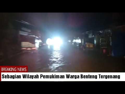 Hujan Terus Landa Selayar, Sejumlah Ruas Jalan Dan Pemukiman Warga Mulai Tergenang