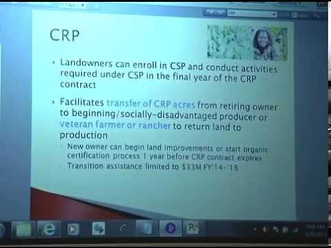 2014 Farm Bill - Conservation Programs