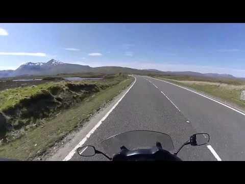 Scotland Motorcycle Ride Part 2 - Tyndrum to Fort William