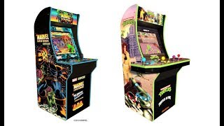 Live From E3 2109: Arcade 1Up Teenage Mutant Turtles, Marvel Super Hero's Arcade Cabinet's