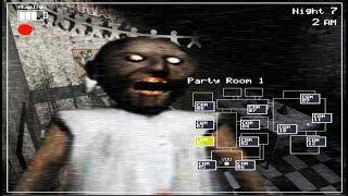 GRANNY FOUND In FNaF 2 - Granny Horror Game (Mod) #FNaF 2018