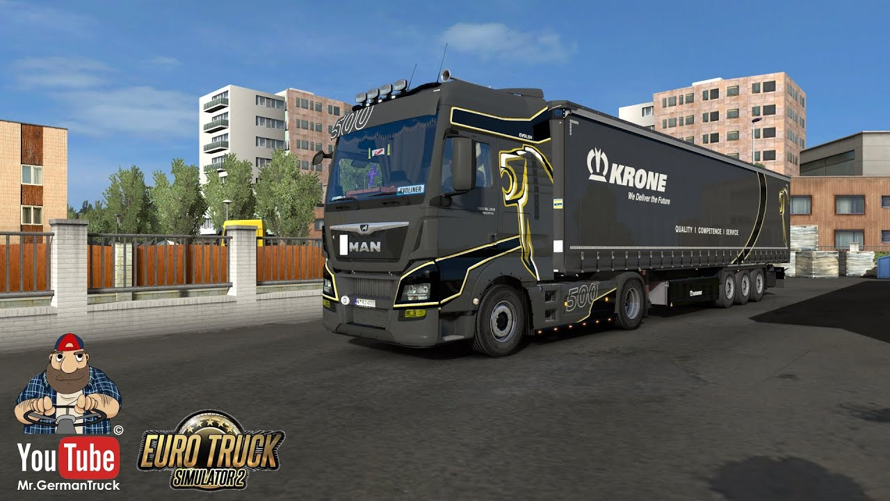 [ETS2 v1.36] MAN Evo Lion 500 for MAN Euro6 by MADster *SkinWork*