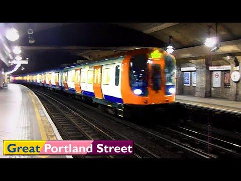 London Underground : Great Portland Street   Circle - Hammersmith & City - Metropolitan lines