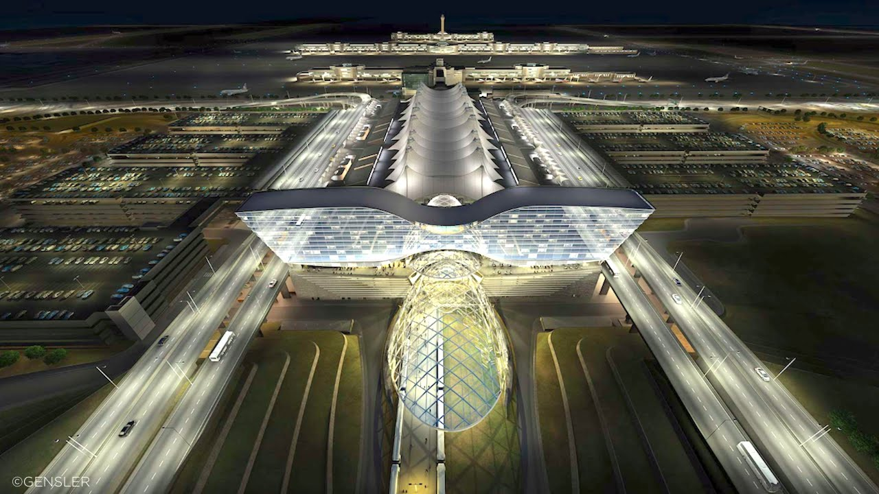 Managing Denver International Airport With BIM The B1M