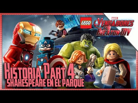 LEGO Marvel Avengers | Part 4 | Shakespeare in the park | 1080p HD Guide