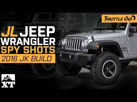 "Jeep Wrangler JL Spy Shots + 2016 JK 4"" Lift & Rampage Top! - Throttle Out"