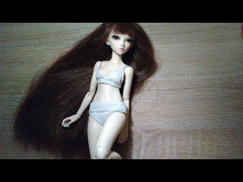 DIY - basic underwear for BJD / Barbie doll