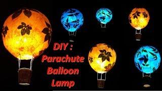 Art Attack | DIY-How to make Parachute Balloon Lamp Shade.