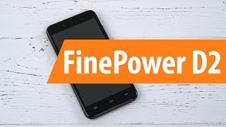 Розпакування FinePower D2 / Unboxing FinePower D2