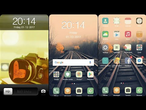 OPPO (ColorOS) Theme : iPhone Old Style