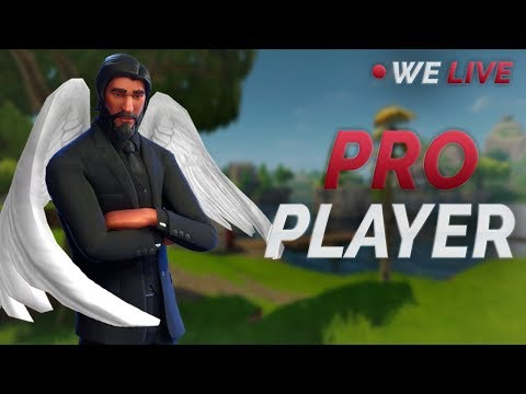 Pro Fortnite Player (PS4) | Fastest Builder | WE LIVE!
