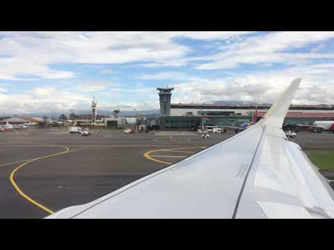 American Airlines Departure From San Jose Costa Rica (SJO) To Dallas Texas (DFW)