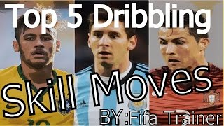 Top 5 dribbling skill moves in soccer/football matches