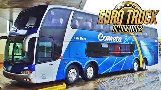 Ônibus Dois Andares BiTruck - Euro Truck Simulador