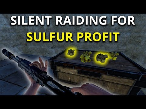 SILENT RAIDING MY NEIGHBOUR FOR SULFUR PROFIT - Rust Solo Survival Gameplay SE2 EP2 thumbnail