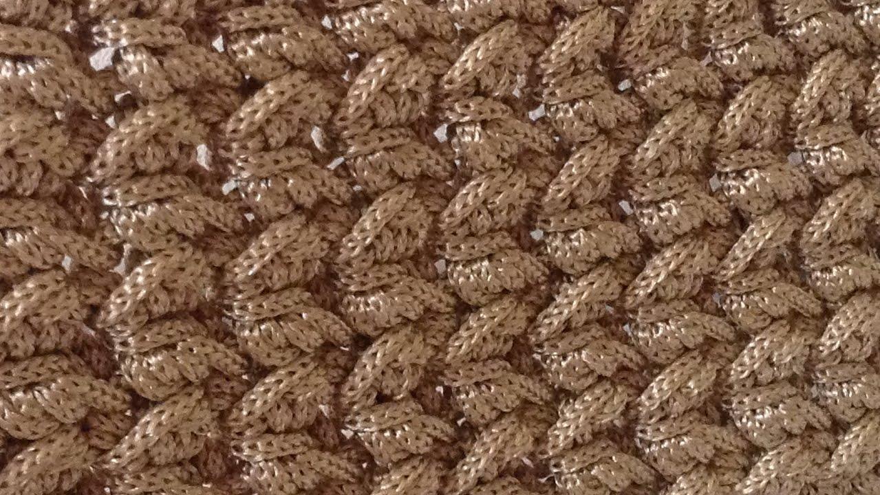 Tutorial Punto freccette uncinetto  Crochet  YouTube
