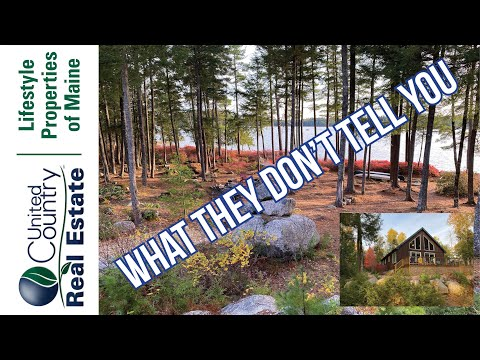 Buying a waterfront cabin - What they don't tell you | Maine Real Estate