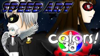 SpeedArt Colors 3D - Mariko Ladybug & Neutral Noir