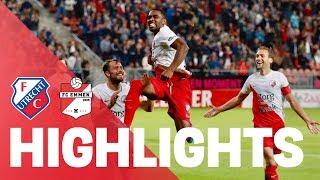 HIGHLIGHTS   FC Utrecht - FC Emmen