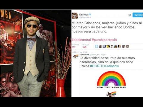 Kalimba Desata Polémica en Twitter por Comentario contra Doritos Gay