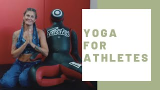 Yoga For Athletes | GET FLEXIBLE AND MINDFUL ➤ faster recovery & visible improvements