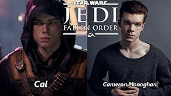 Characters and Voice Actors - Star Wars Jedi: Fallen Order