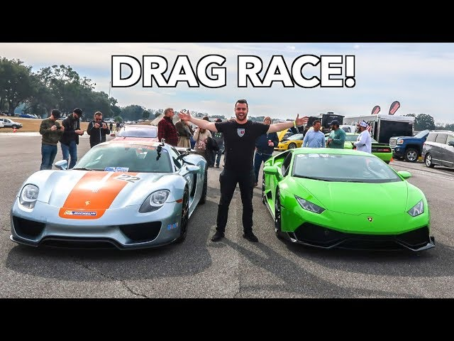 MY LAMBORGHINI IS FASTER THAN A PORSCHE 918 SPYDER?!