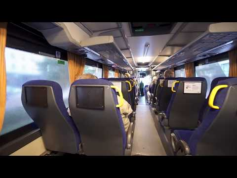 Sweden, ride with free IKEA bus from Stockholm City to Kungens Kurva, 1X elevator, 1X escalator