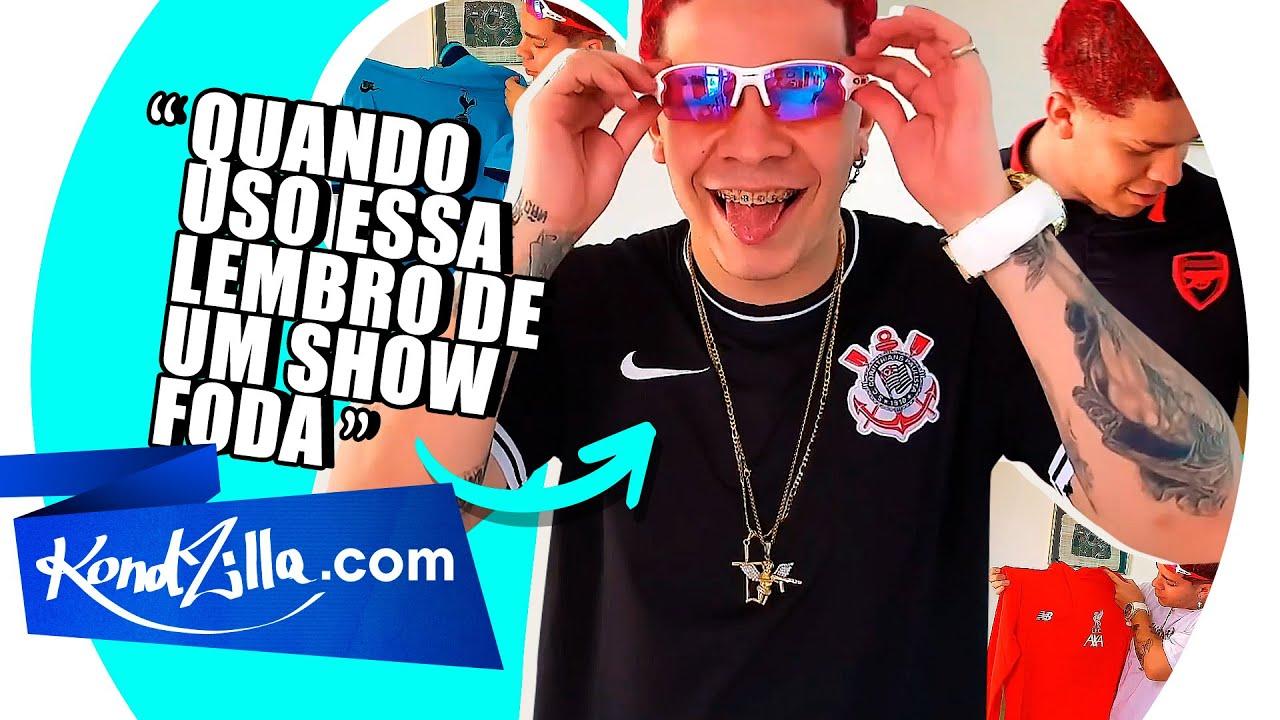 MC Anjim e sua Coleção de Camisetas de Time de Futebol (KondZilla.com)