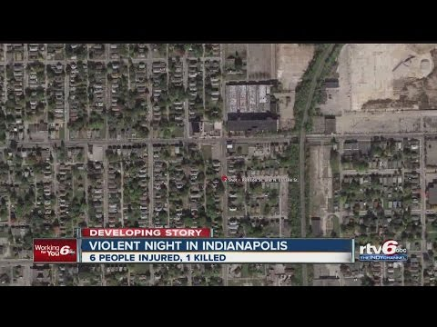 7 people shot in deadly Indianapolis morning