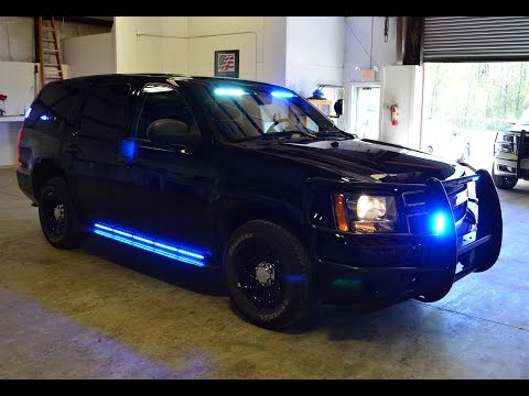 Sold! 2013 Tahoe Police Vehicle For Sale Equipped With Police Lights And Equipment
