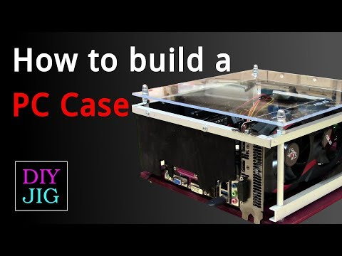 How to make a Computer Case for Mini ITX PC - DIY JIG