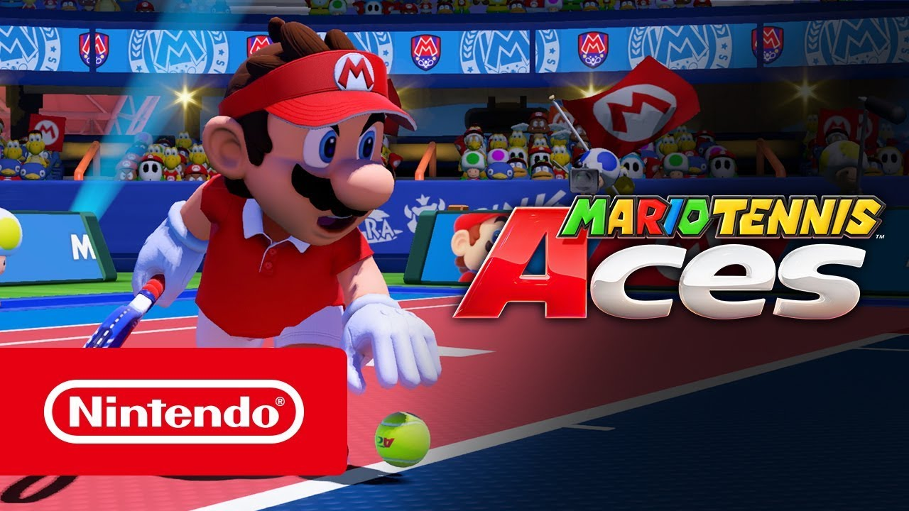 Mario Tennis Aces Trailer De Lanzamiento Nintendo Switch Youtube